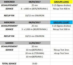 Course TCA 10