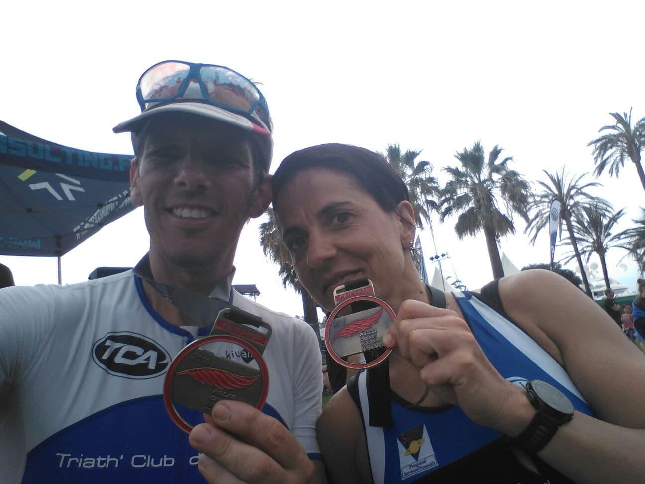résultats triathlon cannes